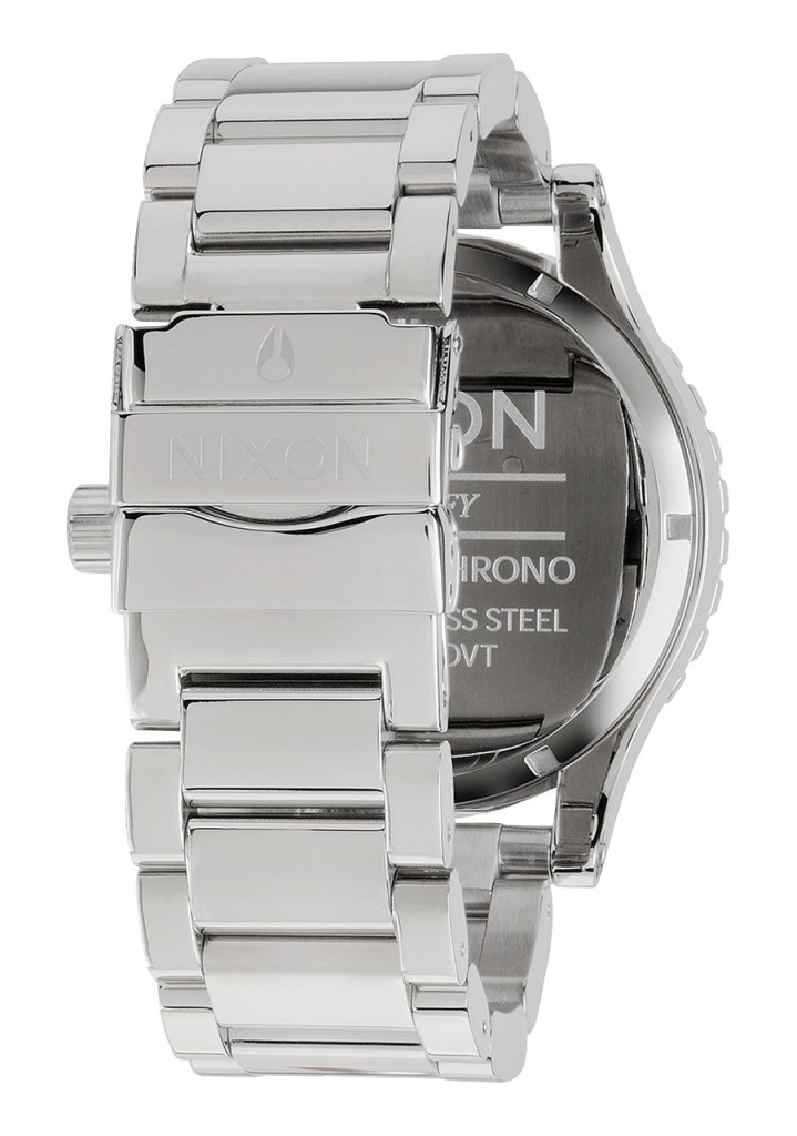 Artist Hangout - Nixon 31-50 Stainless Steel & White (back)