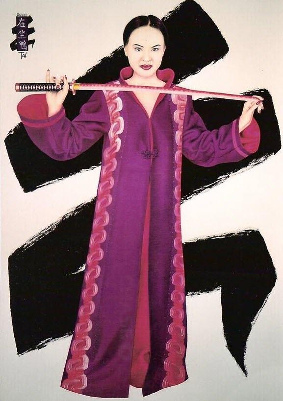 Artist Hangout 11 - Hong & Pink Sword - By Artist Tai Zen