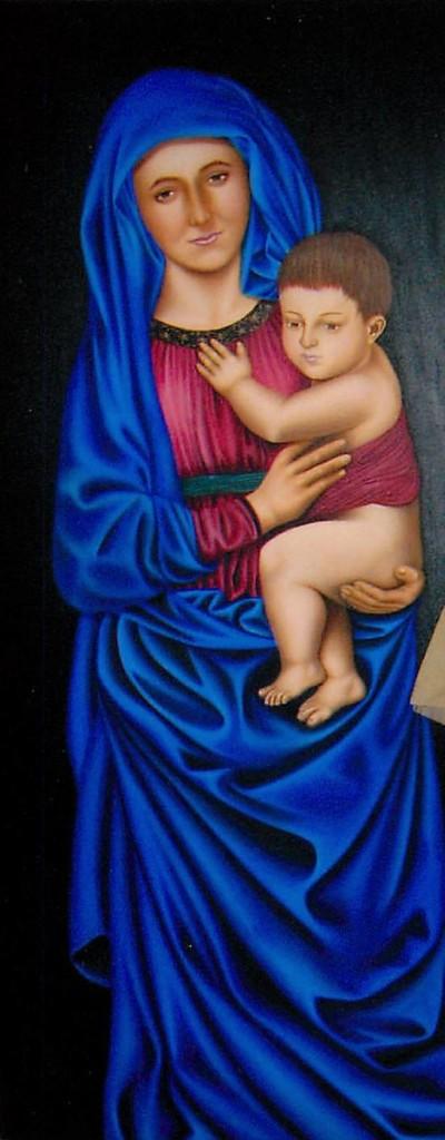 Artist Hangout 16 - Virgin Mary - By Artist Tai Zen