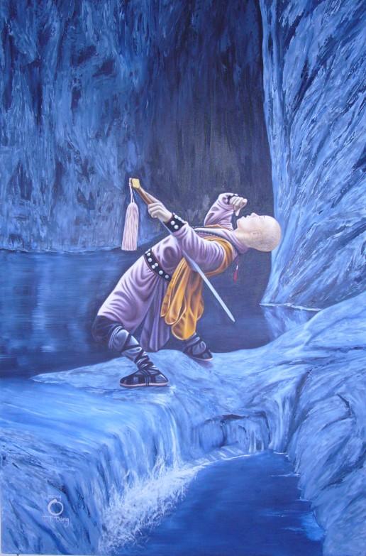 Artist Hangout 19 - (2004 Apr) Shaolin Drunken Kung Fu - By Artist Tai Zen