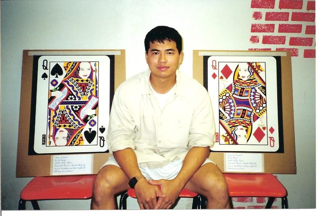 Artist Hangout 45 - (2001) Tai & his queens - By Artist Tai Zen
