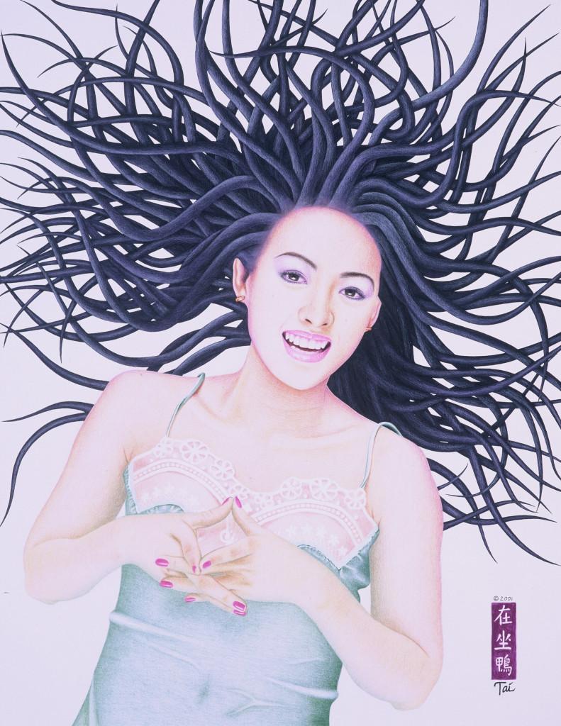 Artist Hangout 5 - Zhang Ziyi - By Artist Tai Zen