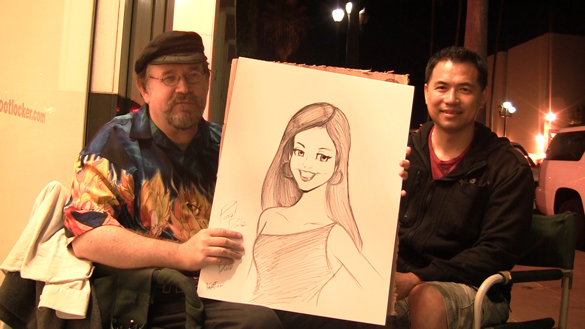 Artist Hangout Interview With Kapitan Kartoon By Artist Tai Zen