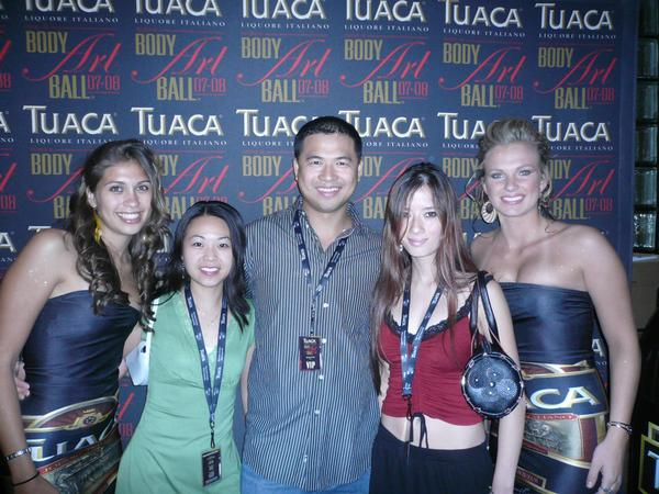 Artist Hangout - Tai Zen At The Tuaca Body Art Ball 1