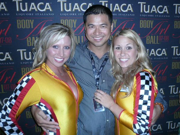 Artist Hangout - Tai Zen At The Tuaca Body Art Ball 2