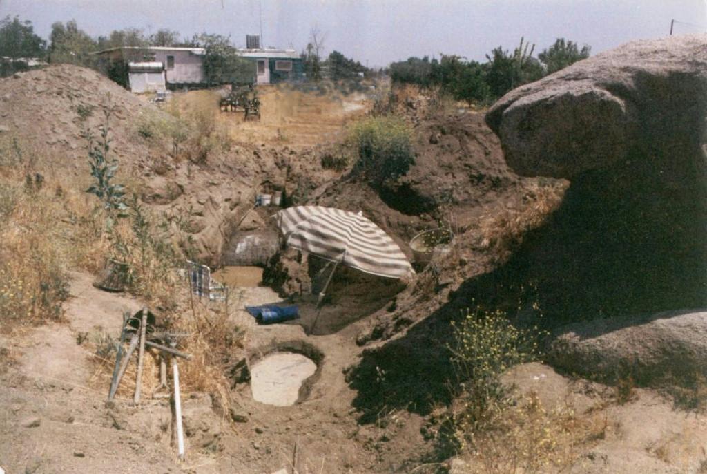 Artist Hangout - Rammed Earth House Construction 04 - Soil Source