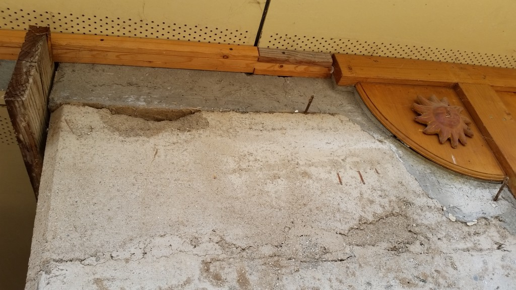 Artist Hangout - Rammed Earth House Construction 22 - Concrete Bond Beams 25 Years Later