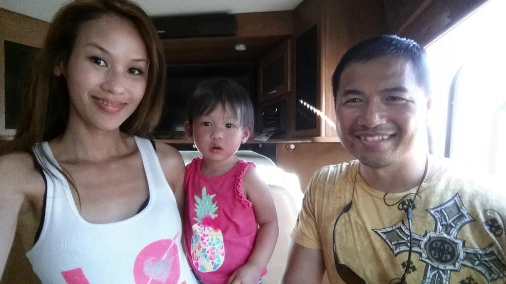 Tai Zen & his wife, Sasi shopping for an RV camper van in Columbia, South Carolina (July 2015)